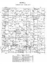Morrill Township, Morrison County 1958